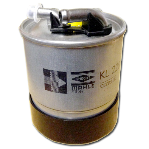MERCEDES SPRINTER ORIGINAL FUEL FILTER On MAHLE Kl228/2D 3